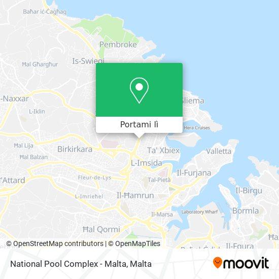 Mappa National Pool Complex - Malta