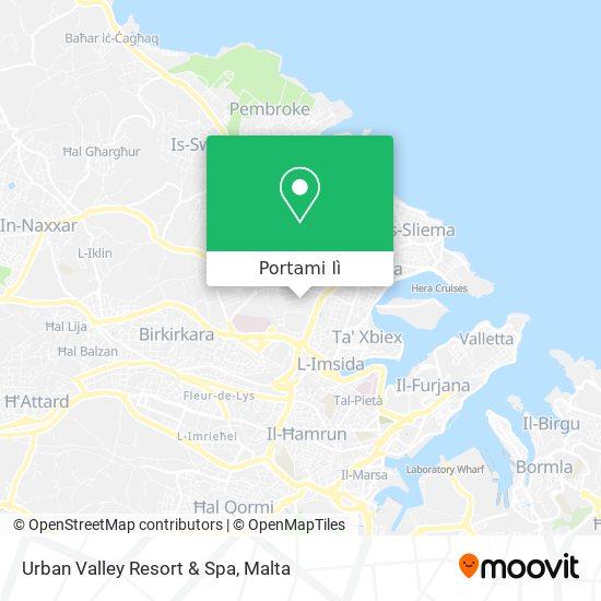 Mappa Urban Valley Resort & Spa