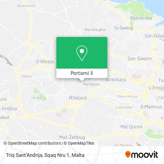 Mappa Triq Sant'Andrija, Sqaq Nru 1