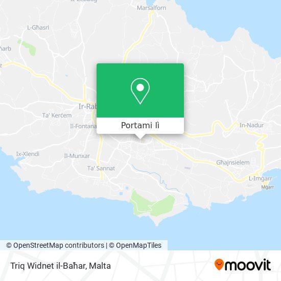 Mappa Triq Widnet il-Baħar