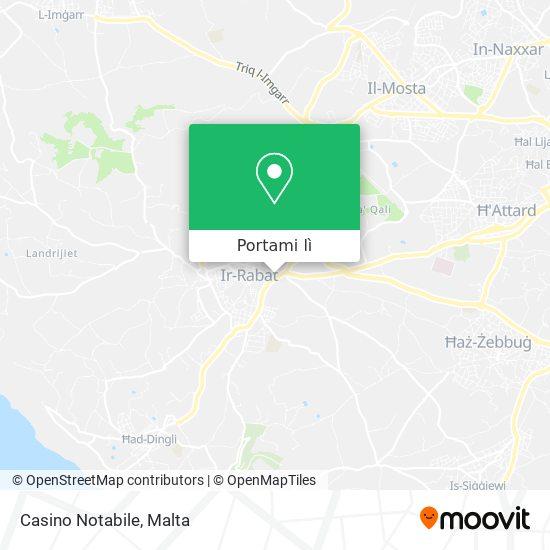 Mappa Casino Notabile