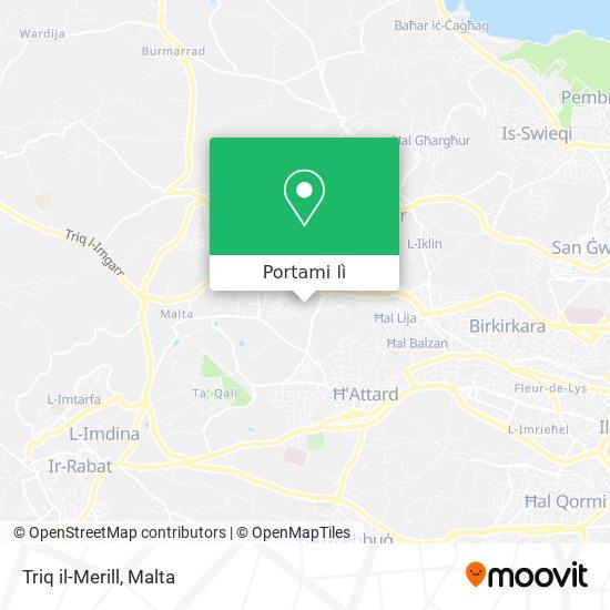 Mappa Triq il-Merill