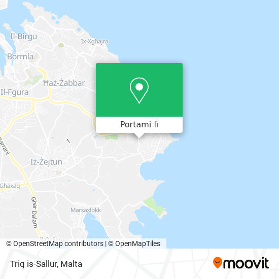Mappa Triq is-Sallur