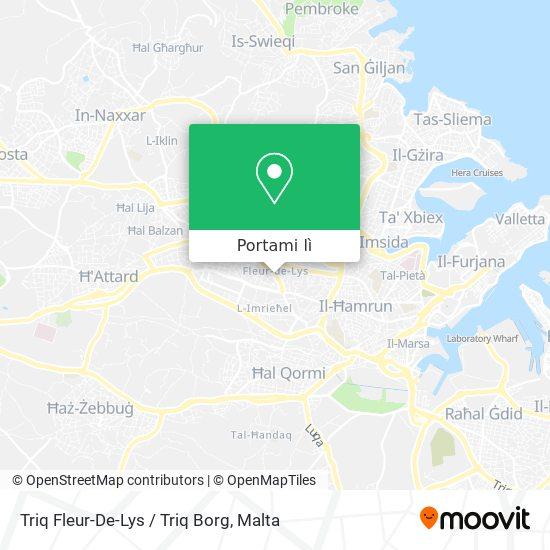 Mappa Triq Fleur-De-Lys / Triq Borg