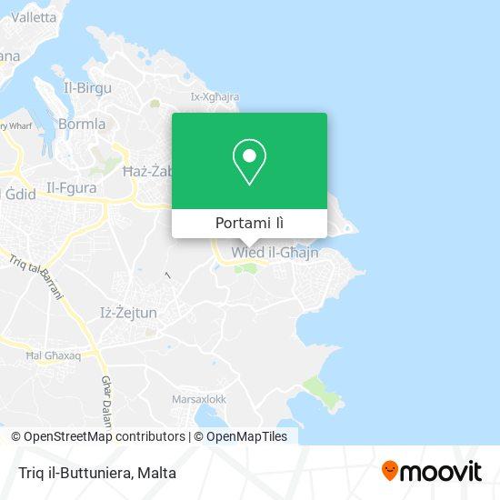 Mappa Triq il-Buttuniera