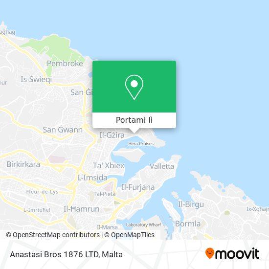 Mappa Anastasi Bros 1876 LTD