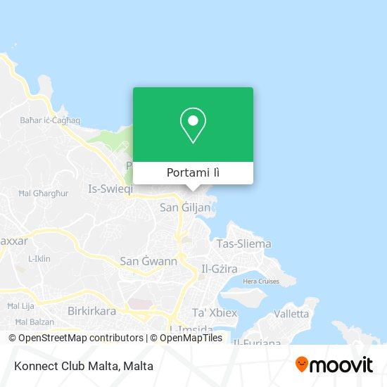 Mappa Konnect Club Malta