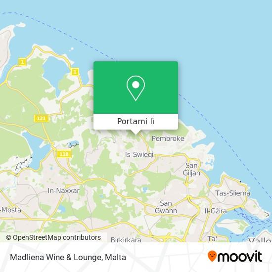Mappa Madliena Wine & Lounge