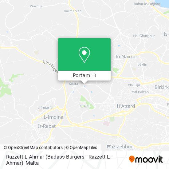 Mappa Razzett L-Ahmar (Badass Burgers - Razzett L-Ahmar)