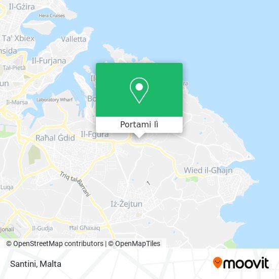 Mappa Santini