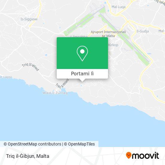 Mappa Triq il-Ġibjun