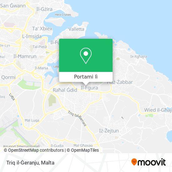 Mappa Triq il-Ġeranju