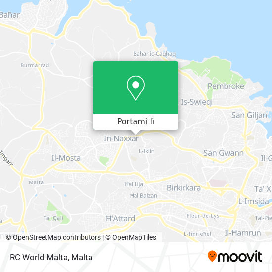 Mappa RC World Malta