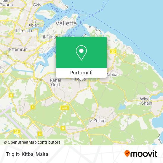 Mappa Triq It- Kitba