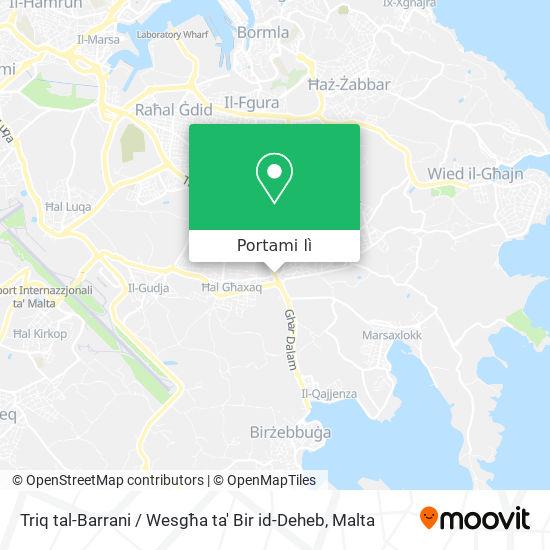Mappa Triq tal-Barrani / Wesgħa ta' Bir id-Deheb