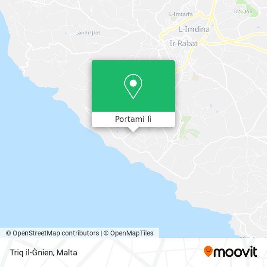 Mappa Triq il-Ġnien