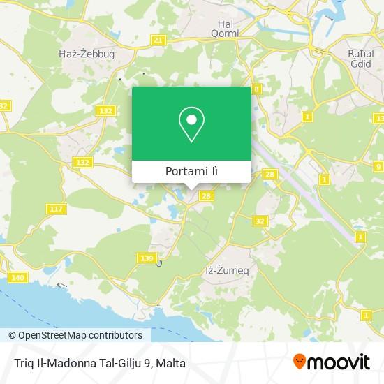 Mappa Triq Il-Madonna Tal-Gilju 9