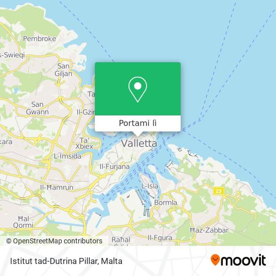 Mappa Istitut tad-Dutrina Pillar
