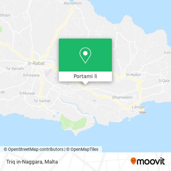 Mappa Triq in-Naggara