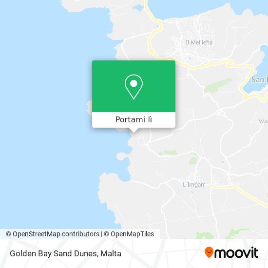 Mappa Golden Bay Sand Dunes