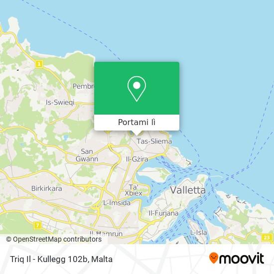 Mappa Triq Il - Kullegg 102b