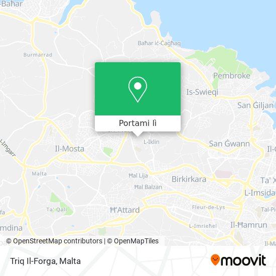 Mappa Triq Il-Forga