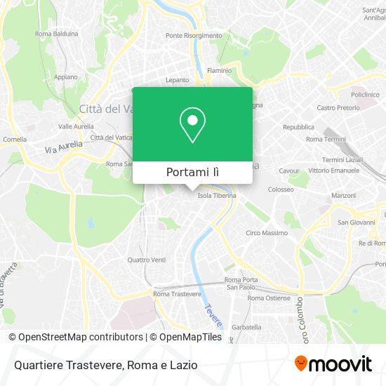 Mappa Quartiere Trastevere