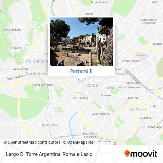 Mappa Largo Di Torre Argentina