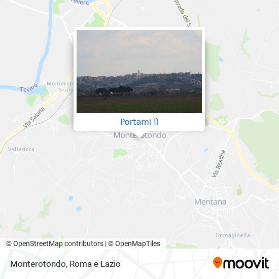 Mappa Monterotondo