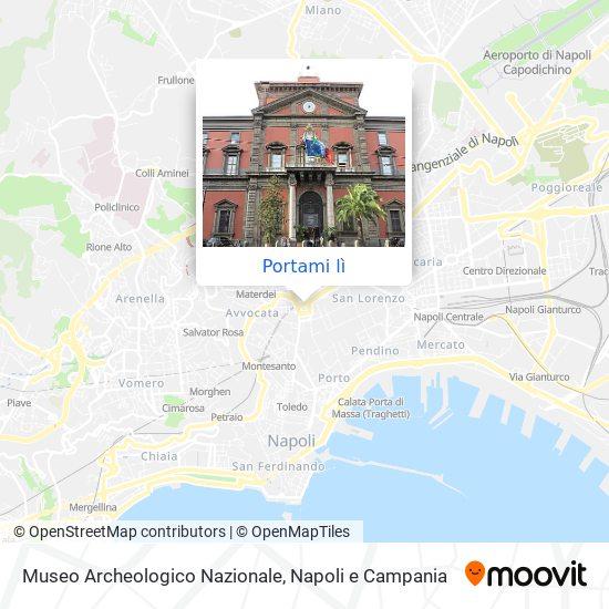 Mappa Museo Archeologico Nazionale