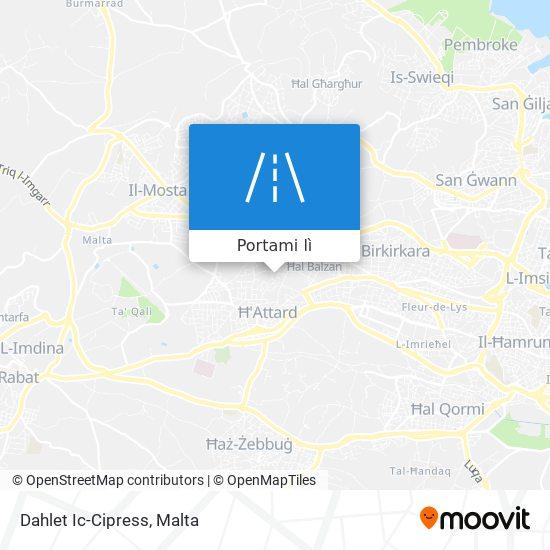 Mappa Dahlet Ic-Cipress