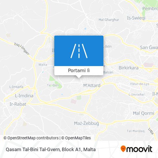 Mappa Qasam Tal-Bini Tal-Gvern, Block A1