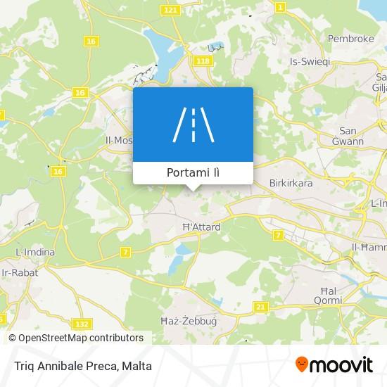 Mappa Triq Annibale Preca
