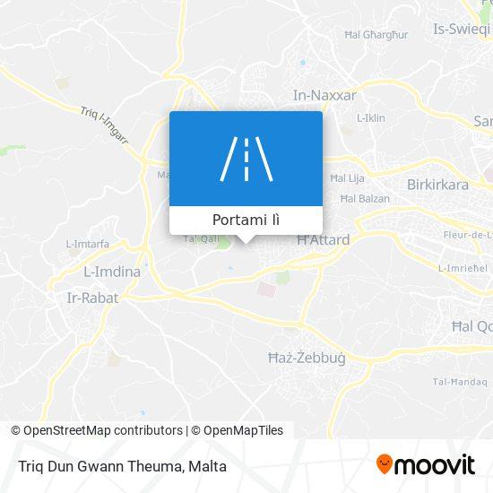 Mappa Triq Dun Gwann Theuma