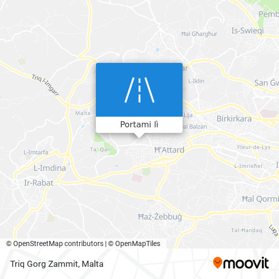 Mappa Triq Gorg Zammit