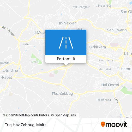 Mappa Triq Haz Zebbug