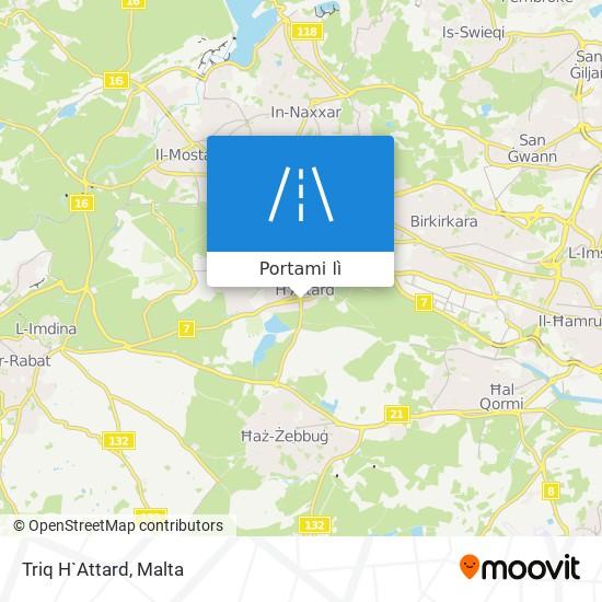 Mappa Triq H`Attard