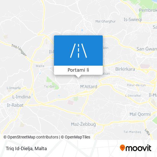 Mappa Triq Id-Dielja