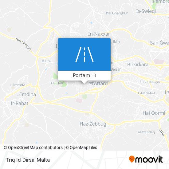 Mappa Triq Id-Dirsa
