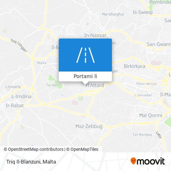 Mappa Triq Il-Blanzuni