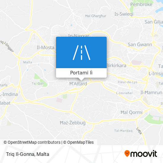 Mappa Triq Il-Gonna
