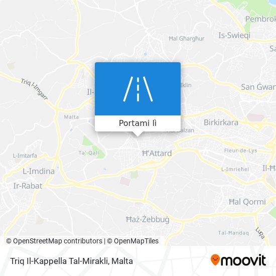 Mappa Triq Il-Kappella Tal-Mirakli