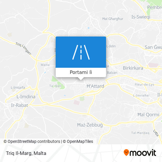 Mappa Triq Il-Marg