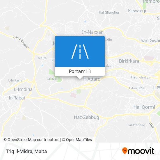 Mappa Triq Il-Midra
