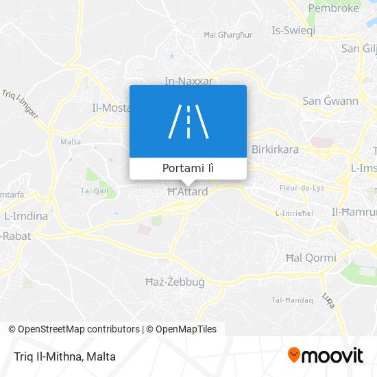 Mappa Triq Il-Mithna