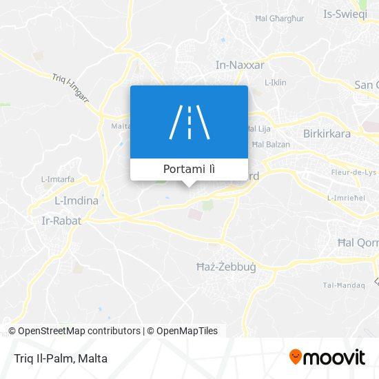Mappa Triq Il-Palm