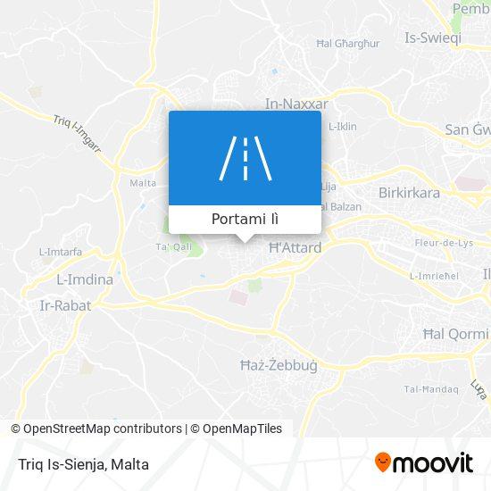 Mappa Triq Is-Sienja