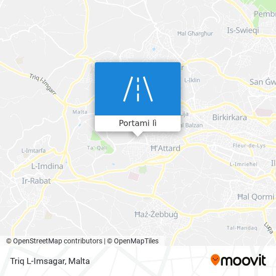 Mappa Triq L-Imsagar