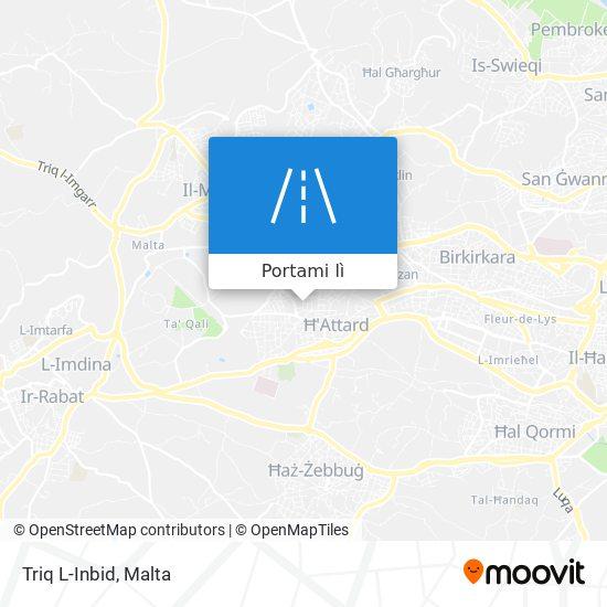 Mappa Triq L-Inbid