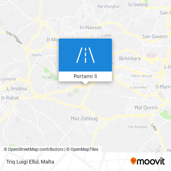 Mappa Triq Luigi Ellul